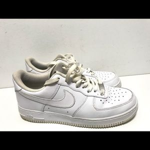 Nike Shoes - ⭐️ NEW NIKE AIR FORCE 1 LOW SHOES SZ 8 OFF WHITE